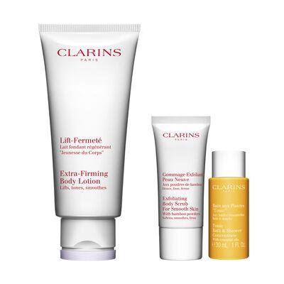 Körperpflege-Set für festere Haut