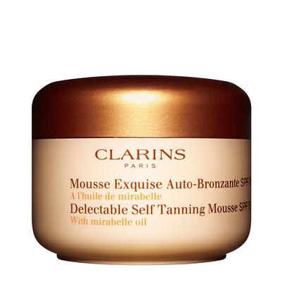 Selbstbräuner Mousse Exquise SPF 15 für Gesicht & Körper