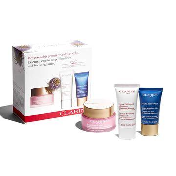 Pflege-Essentials bei ersten Falten, für strahlend schöne Haut.