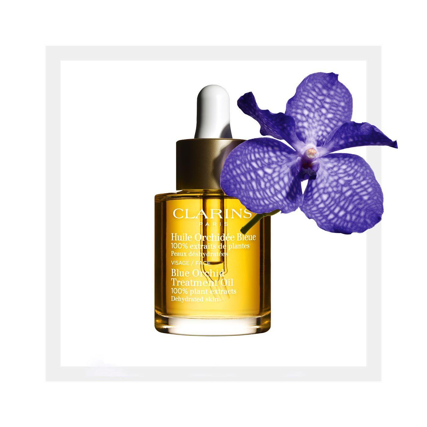 Gesichtsöl Huile Orchidée Bleue - feuchtigkeitsarme Haut