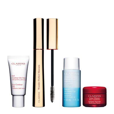 Pflege und Makeup für die Augenpartie