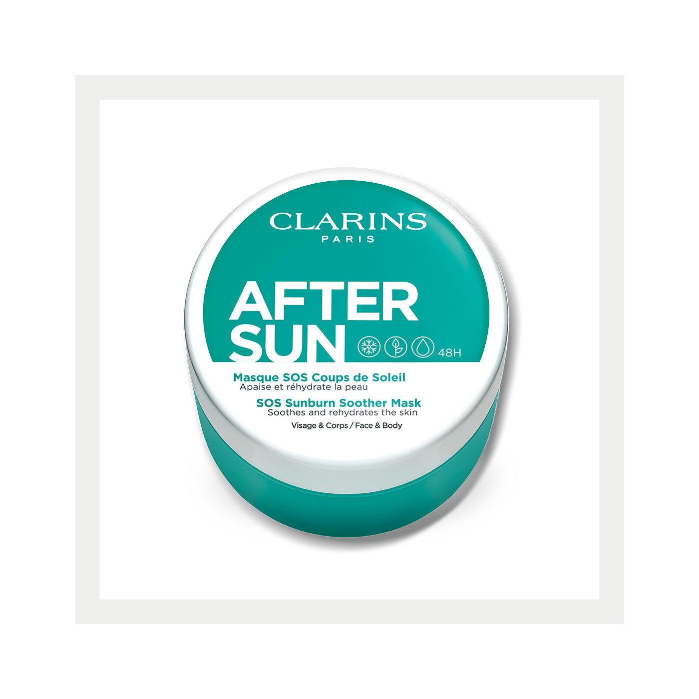 After-Sun Pflegemaske für Gesicht und Körper