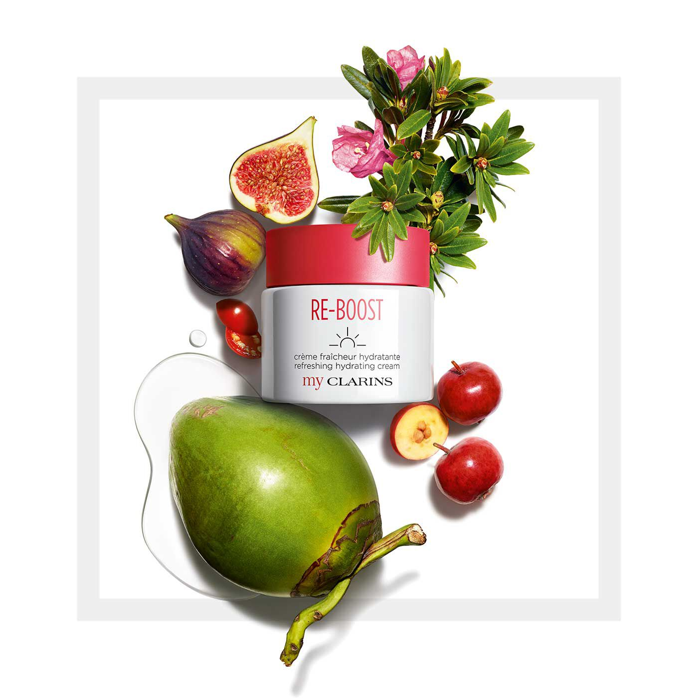 My Clarins RE-BOOST refreshing hydrating cream