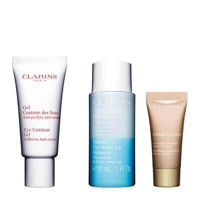 Set Pflege- und Makeup für die Augenpartie