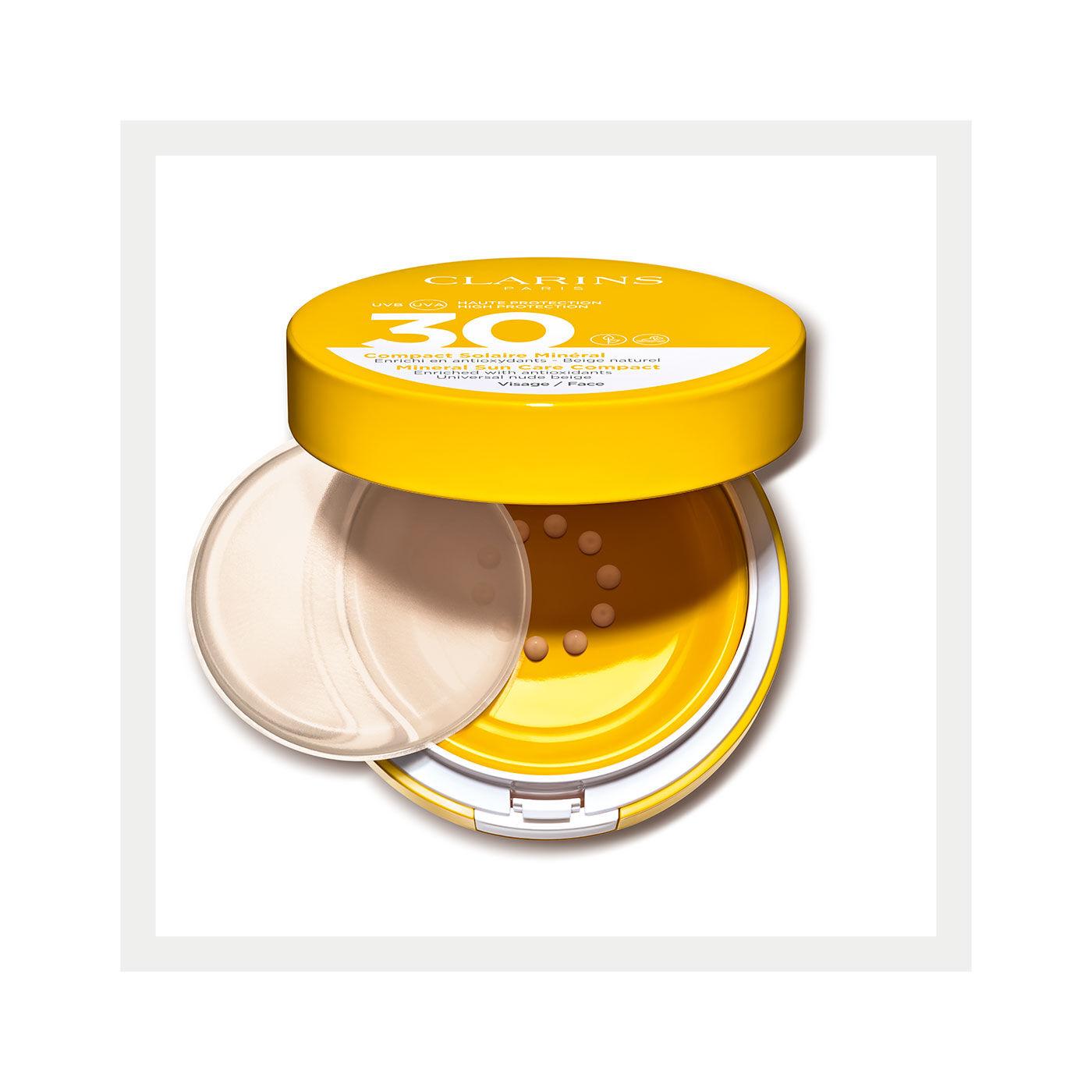 Sonnenschutz-Fluid für das Gesicht mit Beauty-Effekt UVA/UVB 30