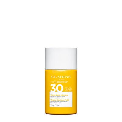 Sonnenschutz-Fluid für das Gesicht mit mineralischen Filtern UVA/UVB 30
