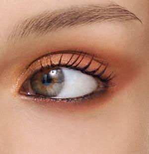 Model-Foto Augenmakeup