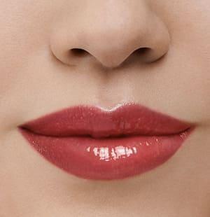 Model-Foto Lippenmakeup