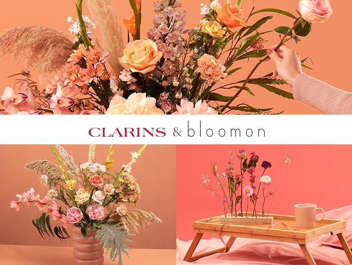 Clarins X Bloomon