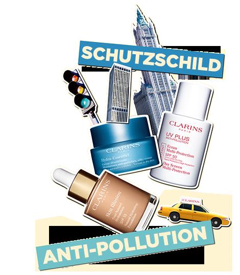 Schutzschild anti-pollution