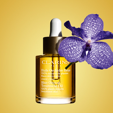 Gesichtspflege-Öl Orchidée Bleue mit Blauer Orchidee