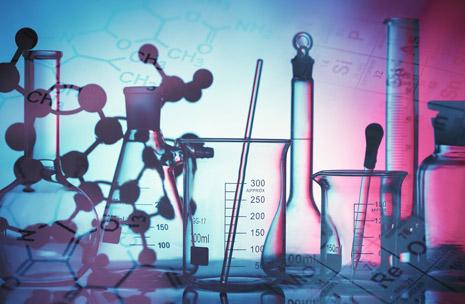 Photo d'un récipient en laboratoire