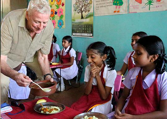 FEED, um weltweiten Hunger zu bekämpfen
