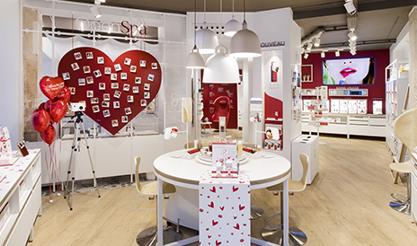Foto Interieur Boutique Clarins