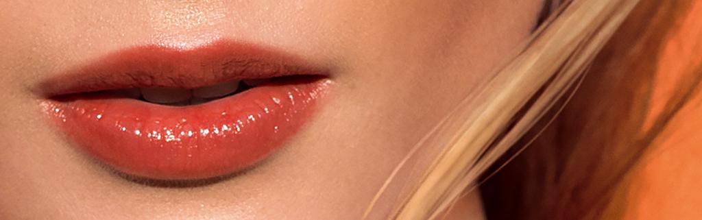 Wunderschön betonte Lippen