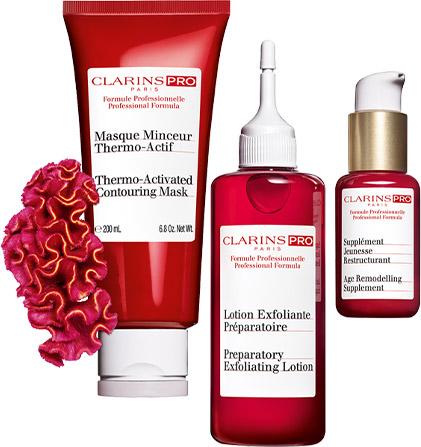 Clarins Kosmetikbehandlungen - Clarins Pro Produkte