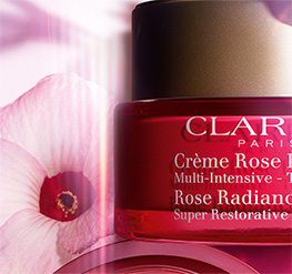 Tiegel Anti-Age Crème Rose Lumière mit Hibiscus-Blüte