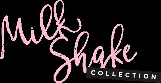 Model und Logo Milk Shake Collection