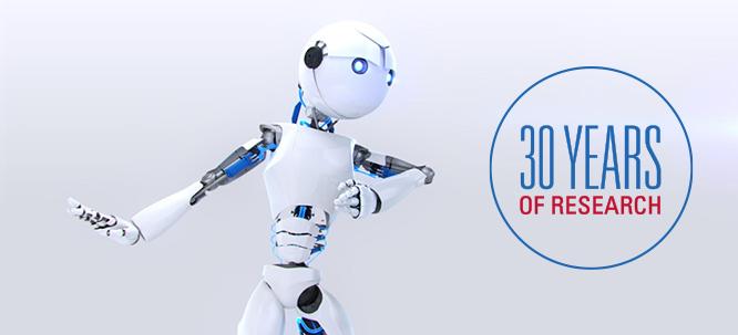 Abbildung des Roboters der Fondation Arthritis