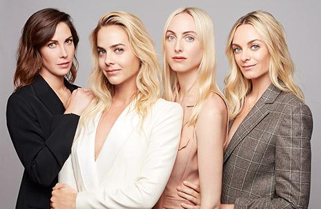 Bild von Claire, Jenna, Prisca und Virginie Courtin-Clarins