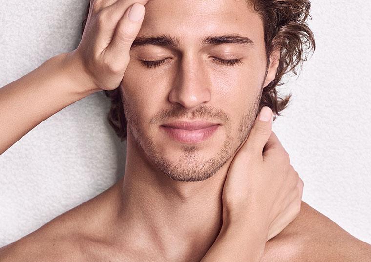 Clarins Kosmetikbehandlung - Pflegebehandlung für Männer