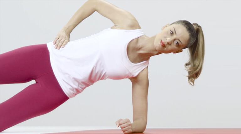 Core-Training für Taille und Hüfte