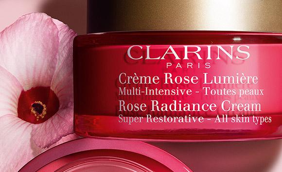 Tiegel Anti-Age Crème Rose Lumière mit Hibiscus sabdariffa
