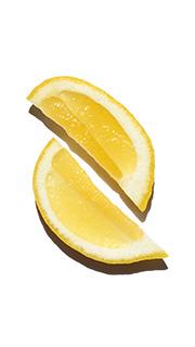 Ätherisches Öl der Zitrone