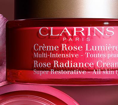 Tiegel Anti-Age Crème Rose Lumière