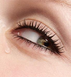 Augen mit Tränen
